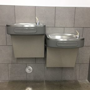 Goodwill water fountain